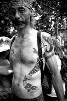 Man with Orca Tattoo