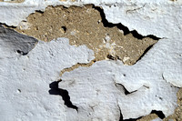Peeling Paint 6 - White on Cement