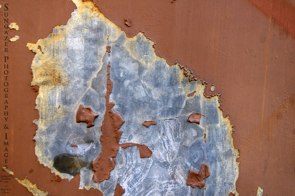 Peeling Paint 18 - Rust and Zinc